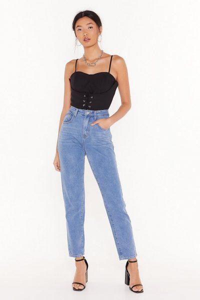 En Şık Yüksek Bel Kadın Pantolon Modelleri